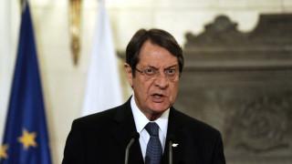 Αναστασιάδης: Εκτός των παραμέτρων του ΟΗΕ κινείται η τουρκική πλευρά