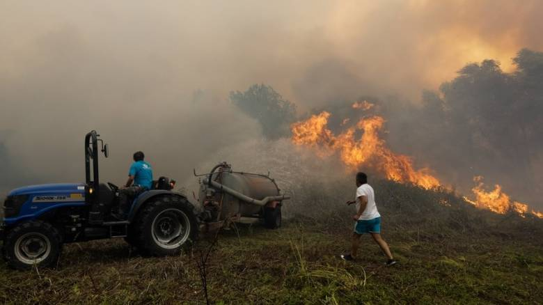 Πορτογαλία: Επέστρεψε ο πύρινος εφιάλτης, 3.000 πυροσβέστες στη «μάχη» της κατάσβεσης