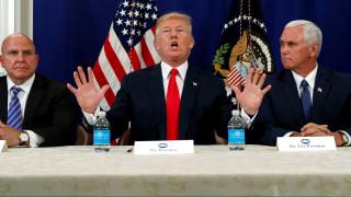 Εσπευσμένα στην Ουάσινγκτον ο Τραμπ - Επιμένει και η Βόρεια Κορέα στις απειλές για πυρηνικό πόλεμο