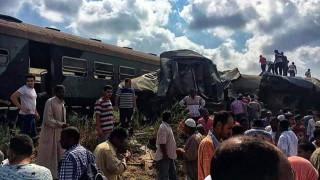 42 νεκροί και 133 τραυματίες από τη σύγκρουση τρένων στην Αλεξάνδρεια