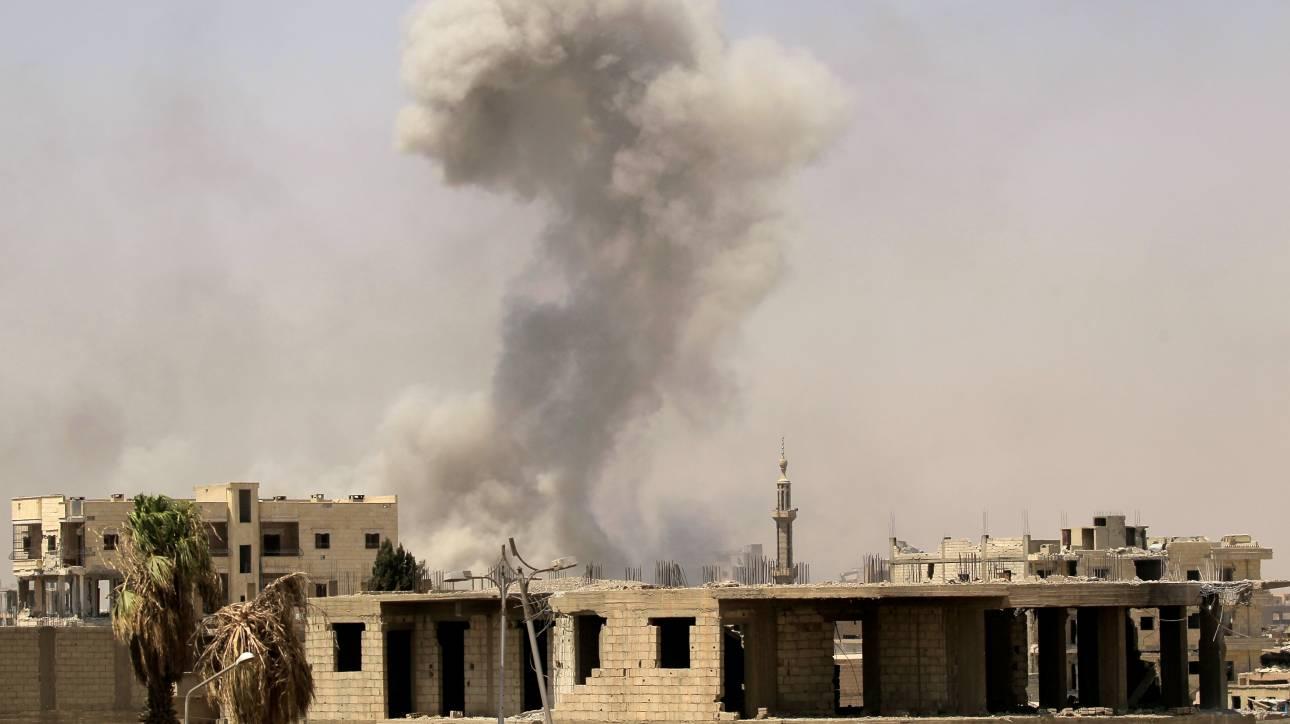Συρία: Δεκάδες νεκροί σε στρατόπεδο ανταρτών από επίθεση καμικάζι