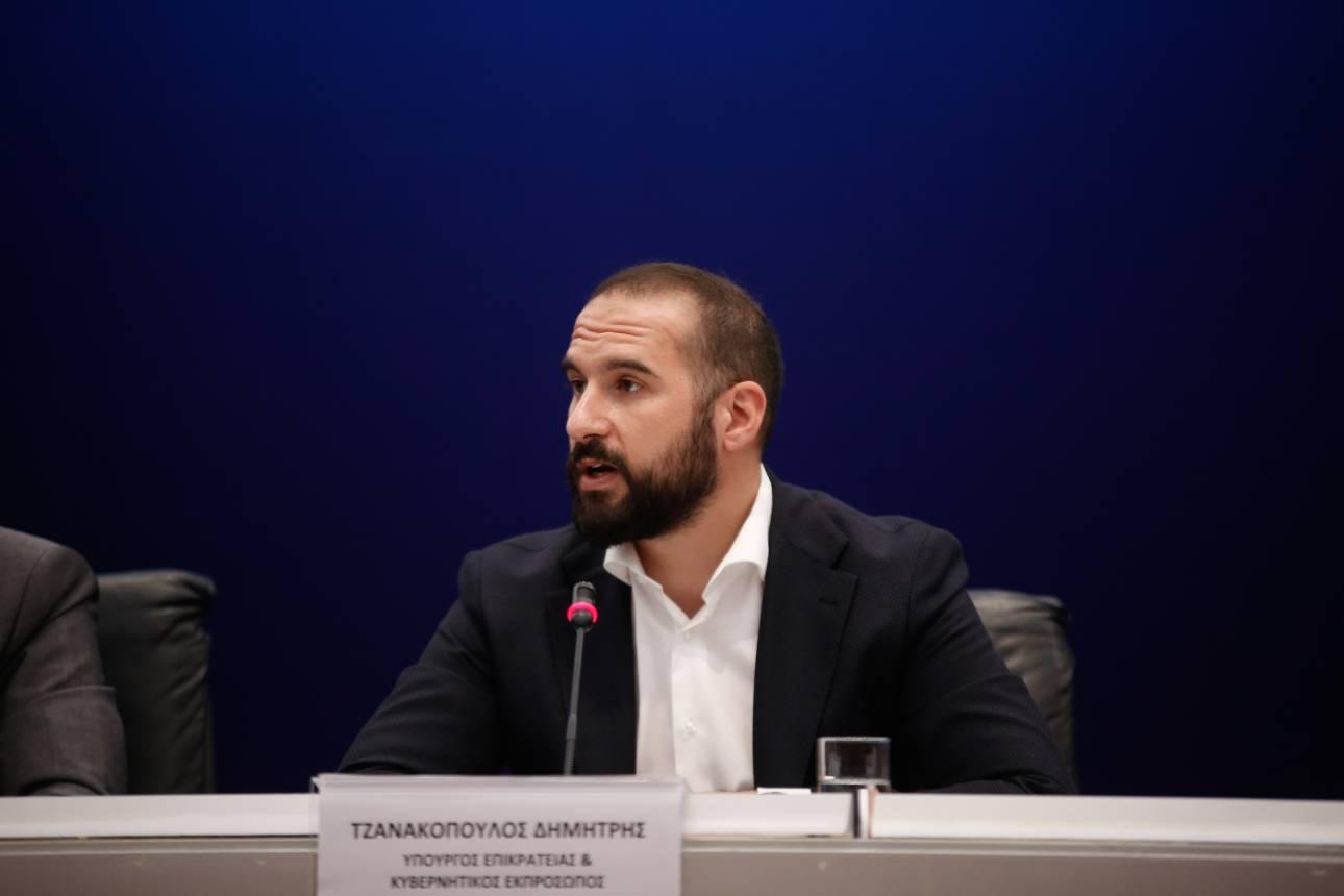 Τζανακόπουλος: Έξοδος από το Μνημόνιο τον Αύγουστο του 2018 χωρίς νέες επιβαρύνσεις
