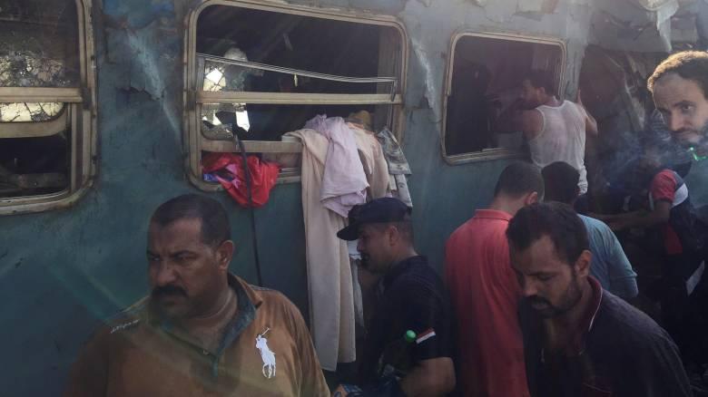 Αίγυπτος: Στους 41 οι νεκρούς και 179 οι τραυματίες από την σύγκρουση τρένων (pics)