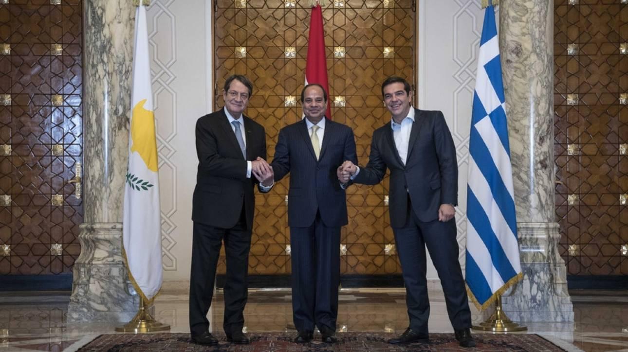 Πότε θα διεξαχθεί η 5η τριμερής Σύνοδος Κορυφής Ελλάδας - Αιγύπτου - Κύπρου