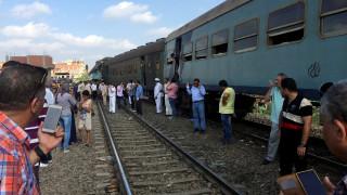 Αίγυπτος: Υπό κράτηση οι μηχανοδηγοί των τρένων που συγκρούστηκαν