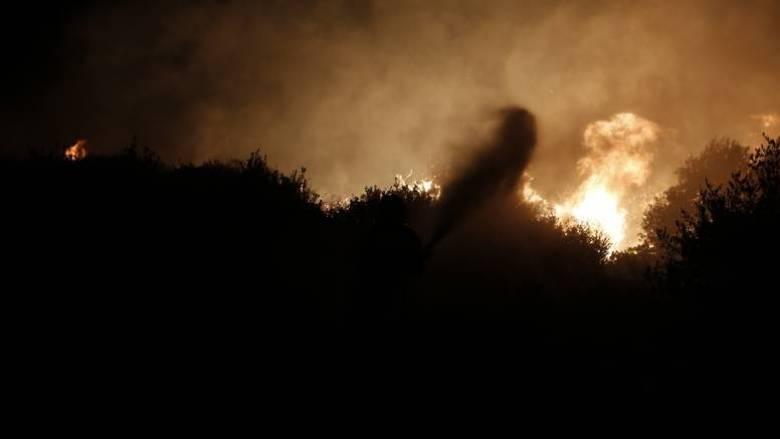 Φωτιά στο νέο φρούριο της Κέρκυρας