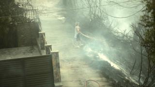 Στον Βαρνάβα η μεγάλη μάχη με τις φλόγες - οι ελπίδες στα εναέρια μέσα κατάσβεσης