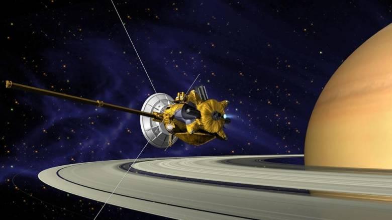 Το «Cassini» πλησιάζει όλο και πιο κοντά στον Κρόνο, «ξύνοντας» πλέον την ατμόσφαιρα