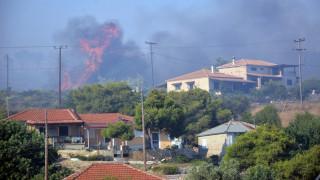 Συνεχείς αναζωπυρώσεις στη Ζάκυνθο, σε κατάσταση έκτακτης ανάγκης το νησί