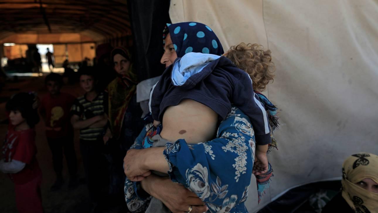 Σε φριχτές συνθήκες ζουν χιλιάδες άμαχοι στη Συρία