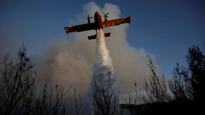 Τρίτη μέρα μάχης με τις φλόγες - Στο Καπανδρίτι το μεγάλο μέτωπο