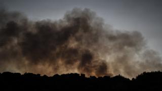Ηλεία: Μαίνεται η φωτιά στο Κρυονέρι