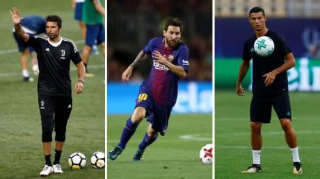 Οι υποψήφιοι της UEFA για τον τίτλο της χρονιάς