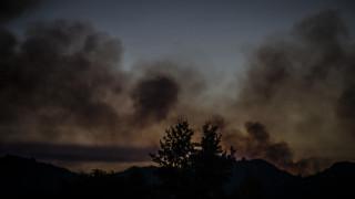 Φωτιά στην Ηλεία: Αρνούνται οι κάτοικοι του Περιστερίου να εγκαταλείψουν τα σπίτια τους