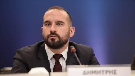 Τζανακόπουλος σε Τσαβούσογλου: Δεν θα επιτρέψουμε καμιά αμφισβήτηση των ελληνικών συνόρων