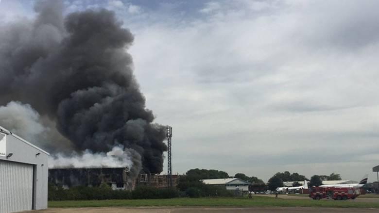 Έκρηξη κοντά στο αεροδρόμιο Σάουθεντ της Αγγλίας