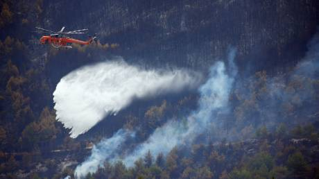 Βελτιούμενη η κατάσταση στα μέτωπα των πυρκαγιών