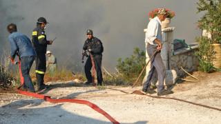 Υψηλός κίνδυνος πυρκαγιάς και την Πέμπτη