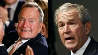 Ηχηρό μήνυμα των πρώην προέδρων Μπους κατά του ρατσισμού