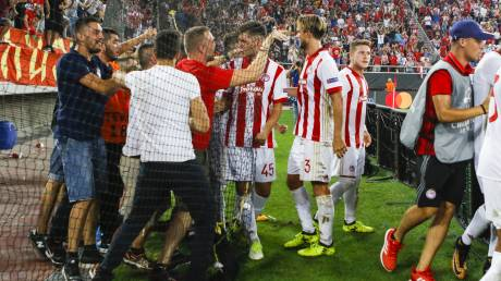 Champions League: Νίκη 2-1 με ανατροπή ο Ολυμπιακός τη Ριέκα