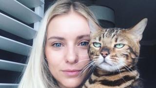 Όταν η γάτα δεν θέλει να βγει selfie μαζί σας