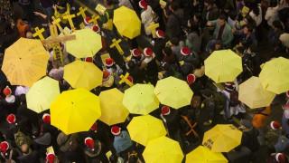 Χονγκ Κονγκ: Στη φυλακή οι ηγέτες του «κινήματος της ομπρέλας»
