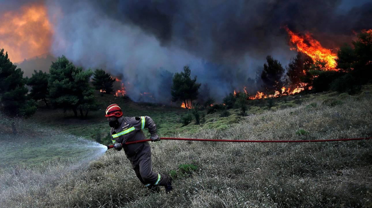 Καταγγελία πυροσβεστών: Μετά απο 48 ώρες στη φωτιά δεν μας άφησαν να μπούμε στο πλοίο