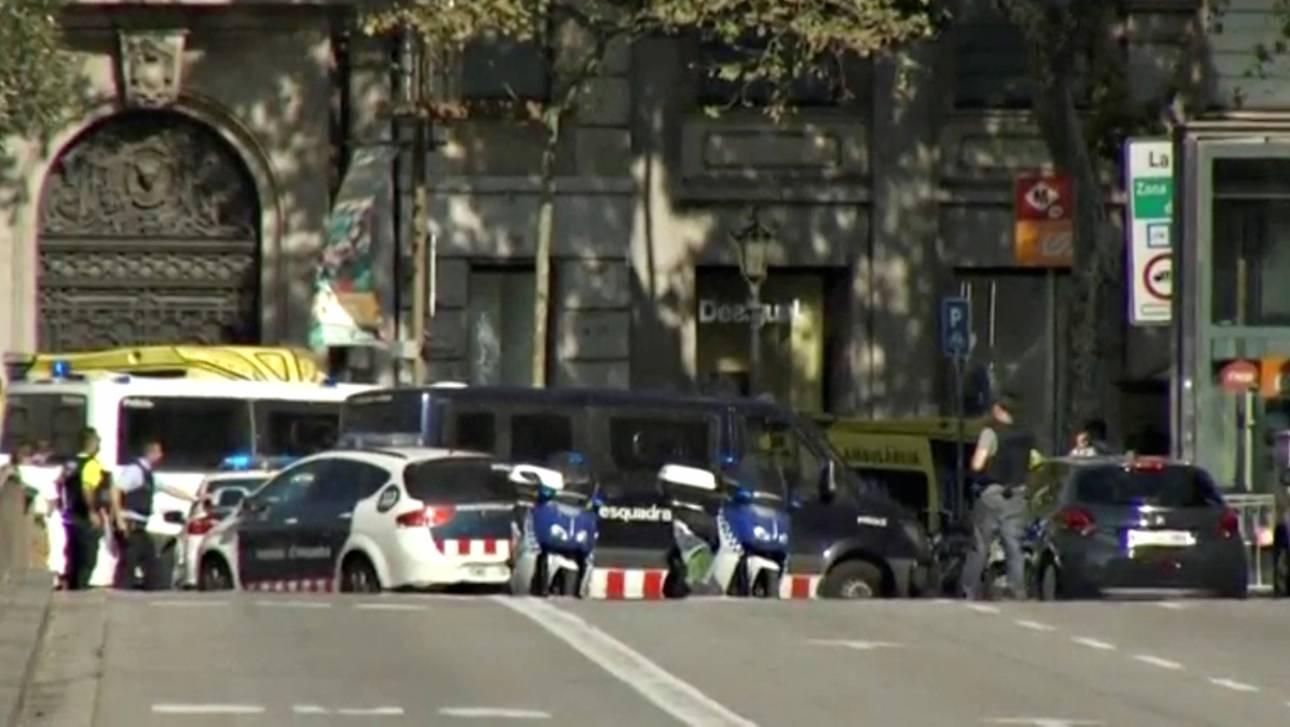Τρομοκρατική ενέργεια η επίθεση στη Βαρκελώνη