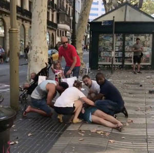 Βαρκελώνη: Συγκλονιστικές φωτογραφίες των νεκρών και των τραυματιών της τρομοκρατικής επίθεσης