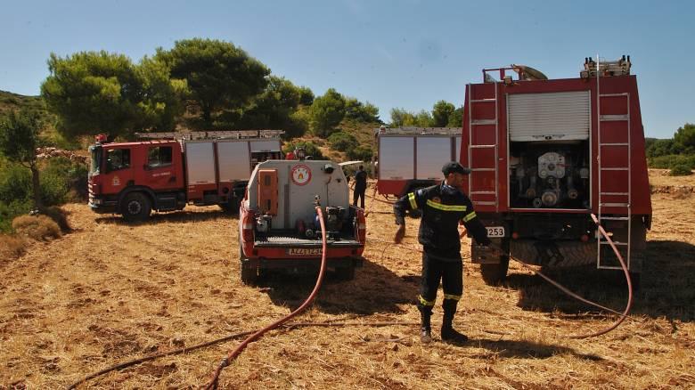 Σε εξέλιξη δύο πυρκαγιές στην Κεφαλονιά