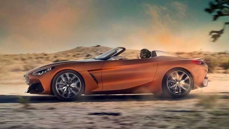 To BMW Z4 Concept προλογίζει τη νέα Z4 που θα έχει πολλά κοινά με την Toyota Supra