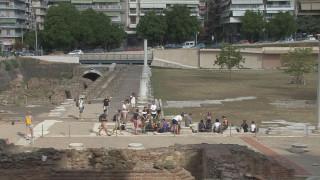 Ομάδα Ιταλών ξεκινά να βαδίζει στα χνάρια της αρχαίας Εγνατίας Οδού