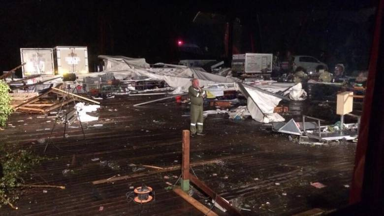 Αυστρία: Δύο νεκροί και 120 τραυματίες από την καταιγίδα (pics)