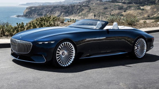 H Vision Mercedes- Maybach 6 Cabriolet είναι η απόλυτη εξτραβαγκάντζα