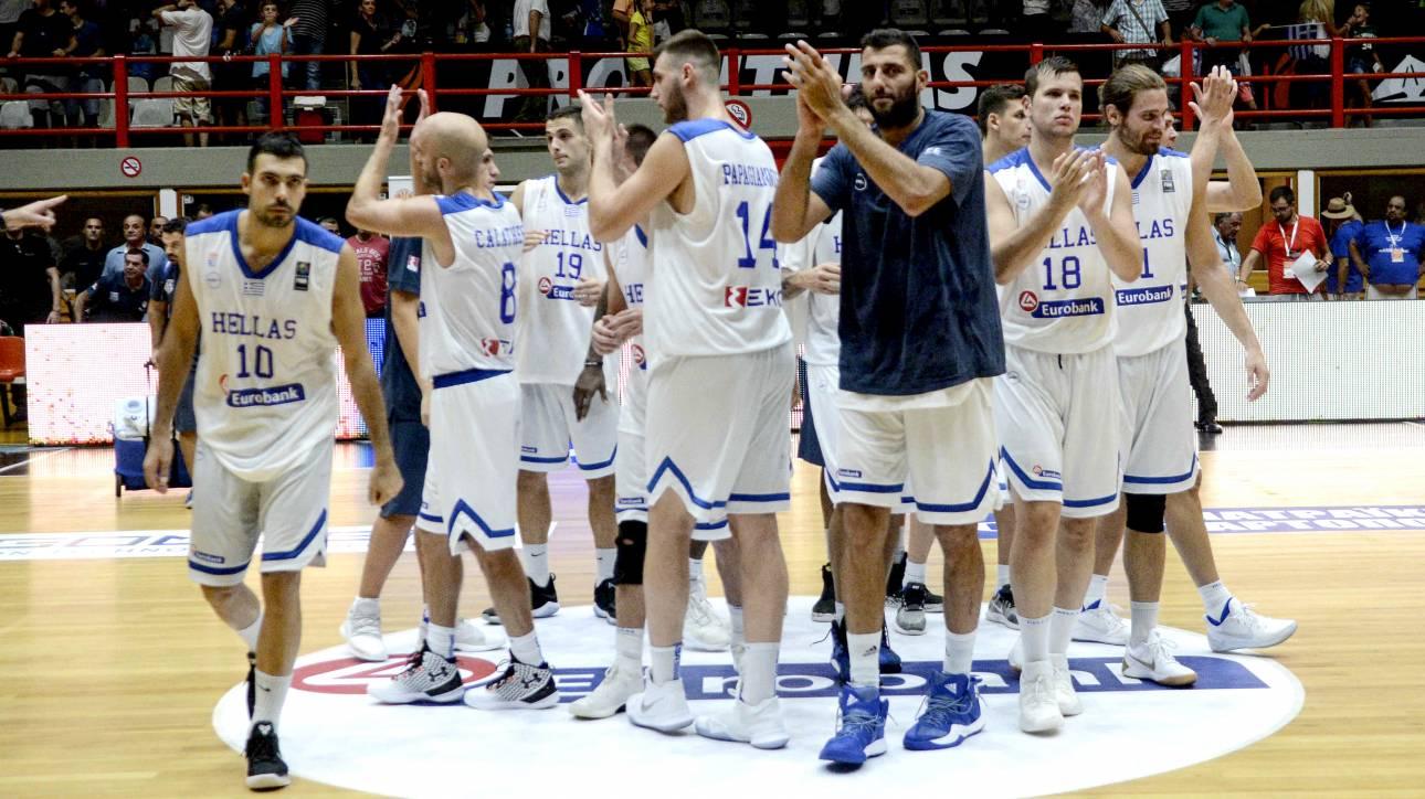 Eurobasket 2017: Νίκη της εθνικής στην Αγγλία στη σκιά του Αντετοκούνμπο