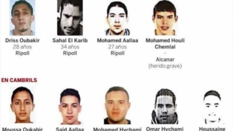 Αυτοί είναι οι τζιχαντιστές που αιματοκύλησαν την Βαρκελώνη
