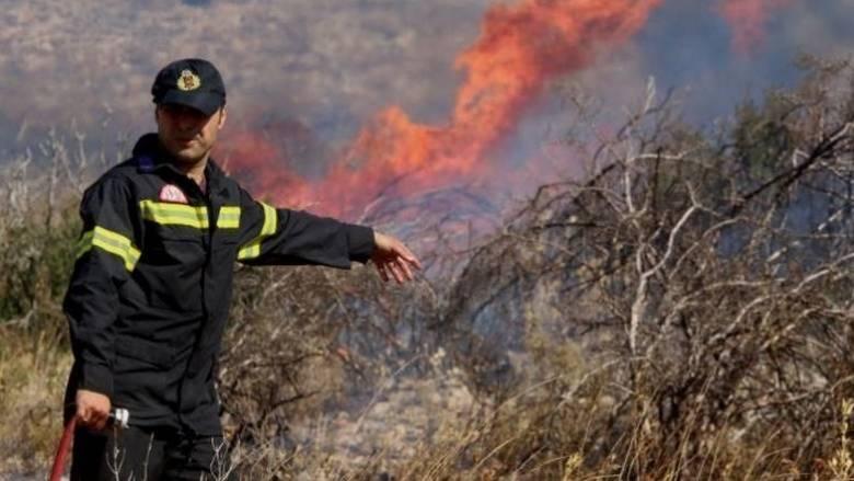 Κοντά σε οικισμό η φωτιά στα Ροδινά Ηλείας