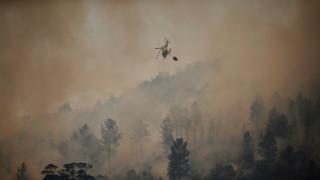 Πορτογαλία: Συνετρίβη ελικόπτερο που συμμετείχε στην κατάσβεση πυρκαγιών - Νεκρός ο πιλότος