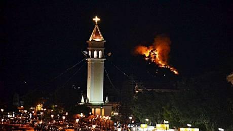 Μεγάλη πυρκαγιά στη Ζάκυνθο (pics)