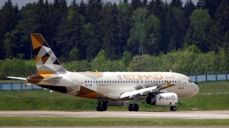 Απετράπη επίθεση αυτοκτονίας σε πτήση της Etihad Airways προς Αμπου Ντάμπι