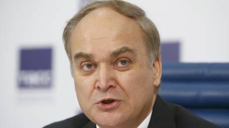 Νέος πρεσβευτής της Ρωσίας στις ΗΠΑ ο Ανατόλι Αντόνοφ