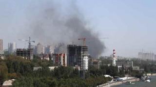 Μεγάλη φωτιά στο Ροστόφ της Ρωσίας - Κάηκαν 30 σπίτια (pics&vid)
