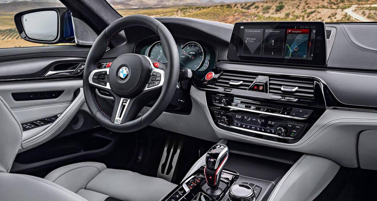 BMW M5 2017 9