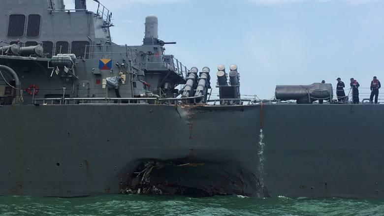 ΗΠΑ: Επιχειρησιακή παύση διέταξε το Ναυτικό μετά τη νέα σύγκρουση