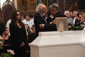 Ο Αλέξανδρος Λυκουρέζος με τον Ευάγγελο Βενιζέλο. Δίπλα του διακρίνεται η κόρη του Μαρία-Ελένη Λυκουρέζου
