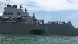 ΗΠΑ:Νεκροί εντοπίστηκαν αγνοούμενοι ναύτες μετά τη σύγκρουση αντιτορπιλικού με δεξαμενόπλοιο