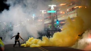 Αριζόνα: Καπνογόνα για τη διάλυση διαδήλωσης στο Φοίνιξ