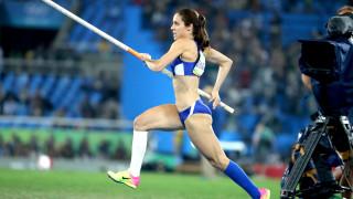 Κατερίνα Στεφανίδη: Ασταμάτητη ακόμα και σε αγώνες επίδειξης