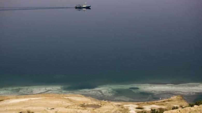 «Ετοιμοθάνατη»... η Νεκρά Θάλασσα