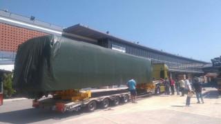 Έφτασε στη ΔΕΘ το νέο υπερσύγχρονο βαγόνι του Μετρό... χωρίς οδηγό